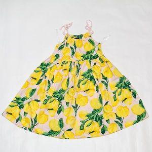 Designer Lemon Dress